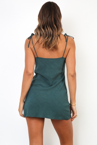 Rahlee Dress - Deep Green