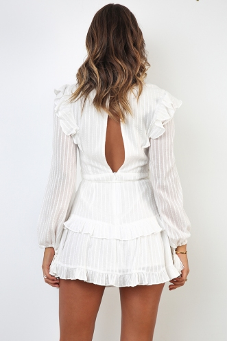 Beach House Dress - White