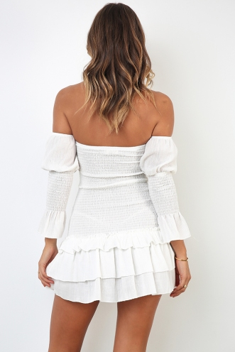 Joanna Dress - White