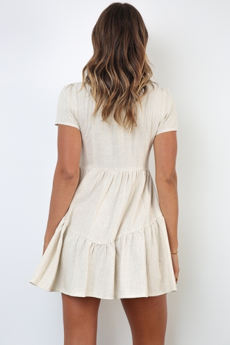 Rodeo Dress - Beige