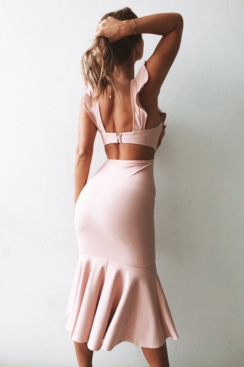 Make An Entrance Dress - Blush
