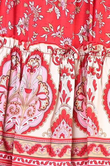 The Future Skirt - Red Print