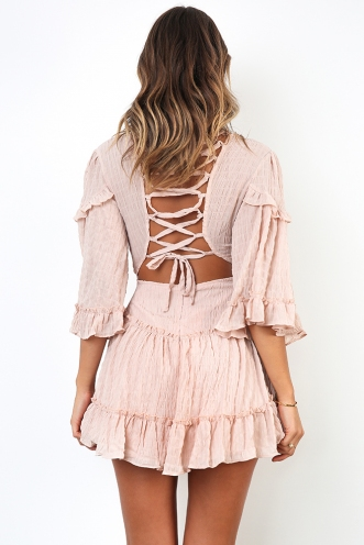 Changing Heart Dress - Dusty Pink