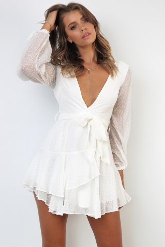Cara Dress - White