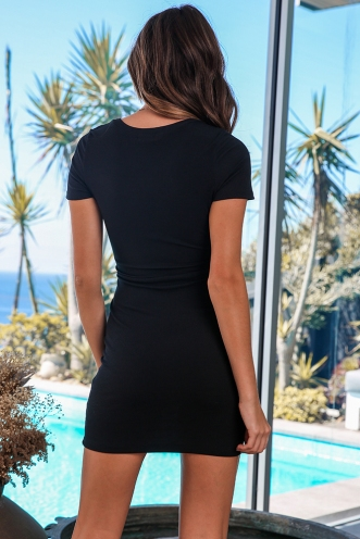 After Thought Dress - Black