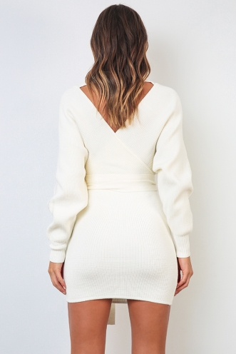 Eyes Wide Open Dress - Ivory