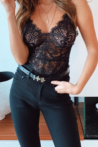 Erilyn Bodysuit - Black