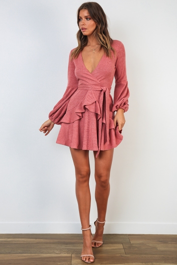 Sharni Dress - Rose