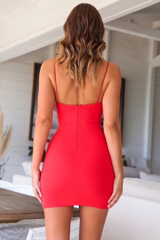 Kirsty Dress - Red