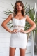 Bobby Ray Dress- White