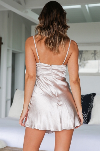 Cappadocia Sunset Dress - Champagne