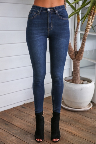 Penelope Jeans - Dark Denim