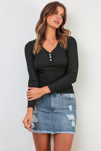 Ellie Top - Black