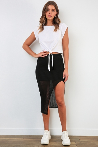 Daily Duty Skirt - Black