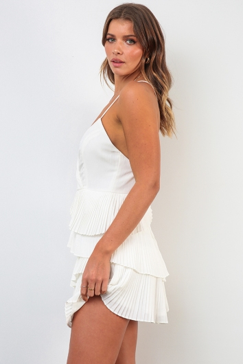 Kayleigh Dress - White