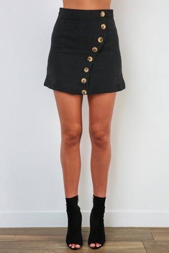 Paige Skirt - Black