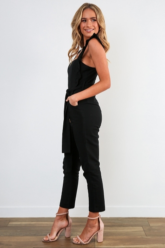 New York Minute Jumpsuit - Black