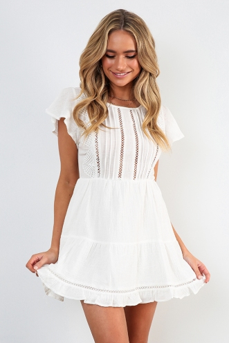 46acb283058 Riptide Dress - White  Riptide Dress - White
