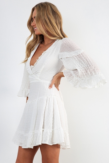 Changing Heart Dress - White