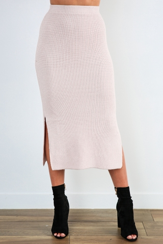 Jericho Skirt - Blush