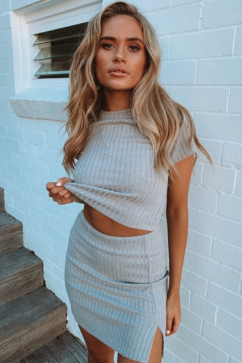 Jaimee Top - Grey