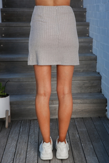 Jaimee Skirt - Grey