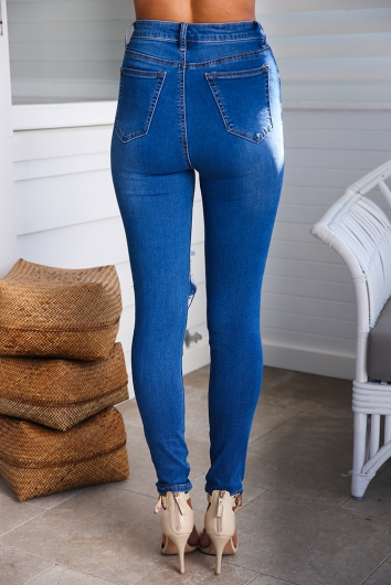 Sandra Jeans - Blue Denim