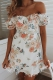 Genevieve Dress - White Floral