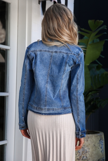 Jayde Jacket - Denim