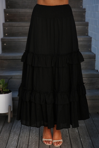 Last Chance Skirt - Black