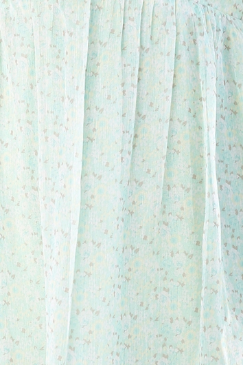 Tabby Dress - Mint Print