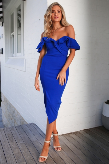 Tabetha Dress - Cobalt Blue