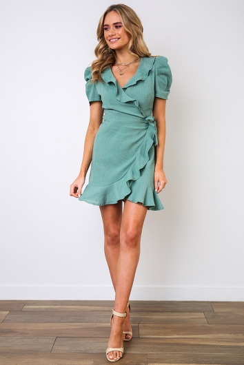 The Isabella Dress- Pear