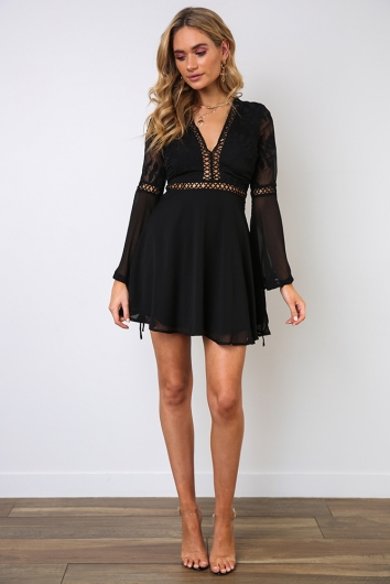 Made With Love Dress - Black