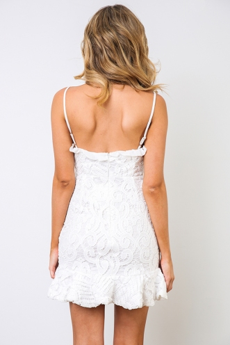 Analeese Mini Dress - White