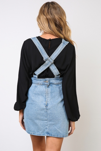 American Gal Dress - Denim