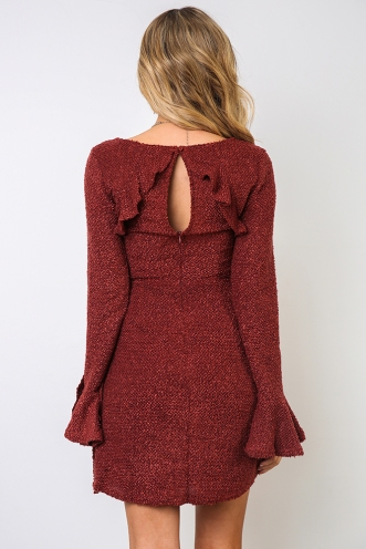 Tilleigh Dress - Rose
