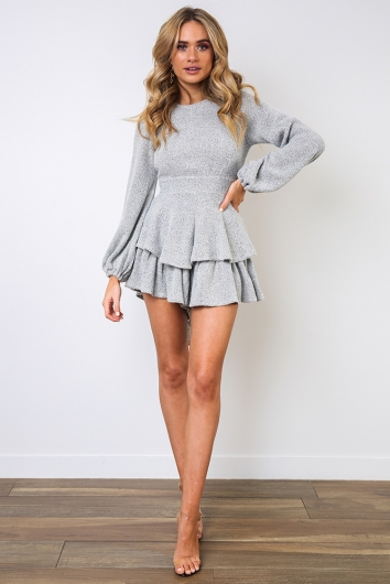 Teneille Playsuit - Grey