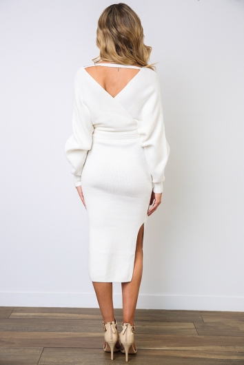 Genny Dress - White