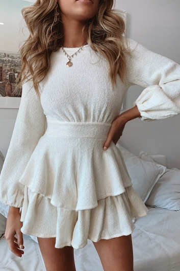 Teneille Playsuit - Off White