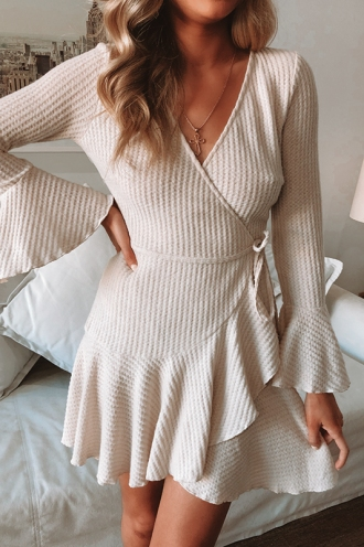 Shealee Dress - Nude