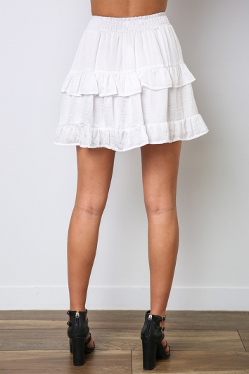Geni Skirt - White