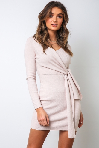 Caitlyn Dress - Blush