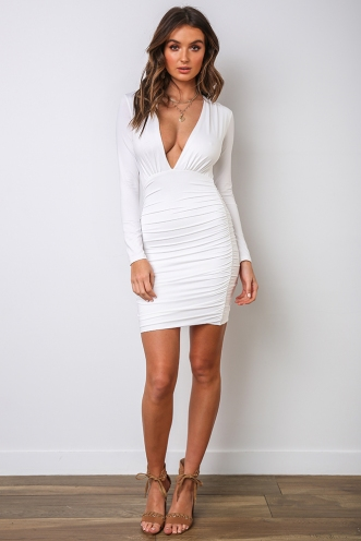 Annika Dress - White