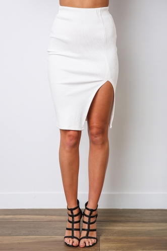 Kami Skirt - White