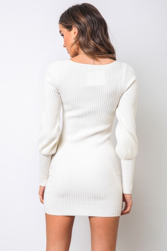 Karla Dress - Off White