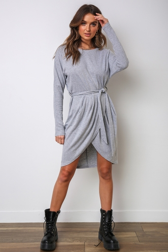 Love You Better Dress - Grey
