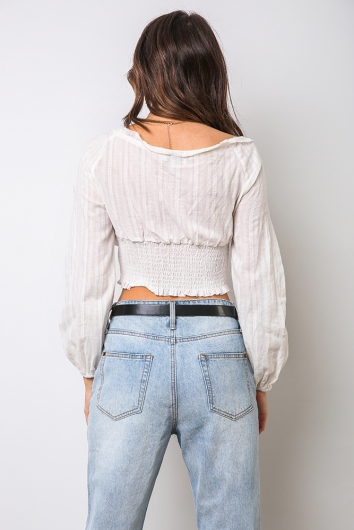Mabel Top - White