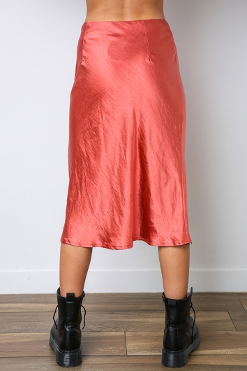 Rebel Just For Kicks Skirt - Orange