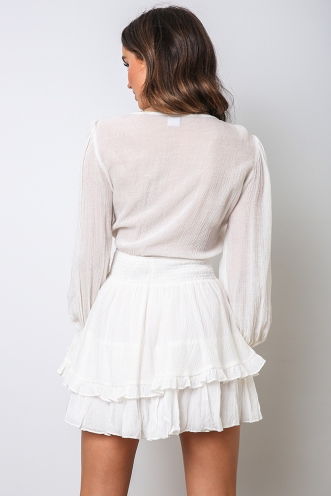Rossi Dress - White